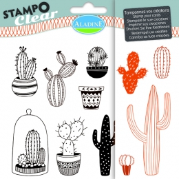 Tampons Transparents STAMPO CLEAR CACTUS