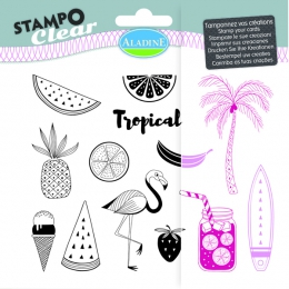Tampons Transparents STAMPO CLEAR FLORIDE