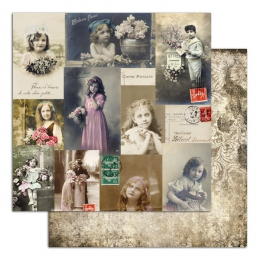 Pack de papiers imprimés  Collection LE TEMPS DES SECRETS
