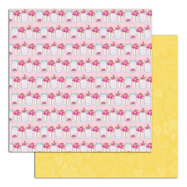 Pack de papiers imprimés  Collection UN DIMANCHE À LA CAMPAGNE