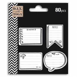 Assortiment 80 Notes Adhésives