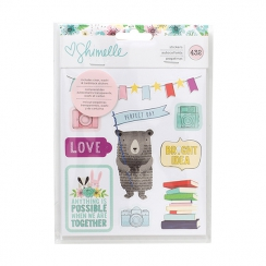 Carnet de stickers Shimelle LITTLE BY LITTLE