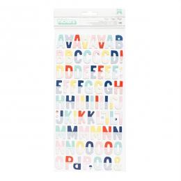 Alphabet chipboard Shimelle LITTLE BY LITTLE