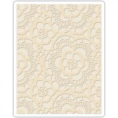 Plaque d'embossage LACE par Sizzix. Scrapbooking et loisirs créatifs. Livraison rapide et cadeau dans chaque commande.