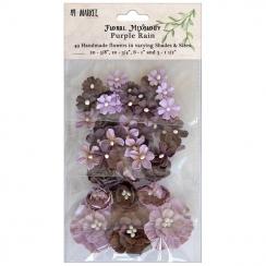 Fleurs en papier PURPLE