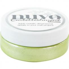 Parfait pour créer : Pâte de texture Nuvo Embellishment Mousse SPRING GREEN par Tonic Studios. Livraison rapide et cadeau dan...