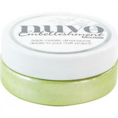 Pâte de texture Nuvo Embellishment Mousse SPRING GREEN