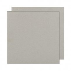 Plaques de carton gris 20 x 20 cm