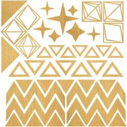 Embellissements en bois TRIANGLES