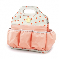 Tote multipoches rose DOT BLUSH