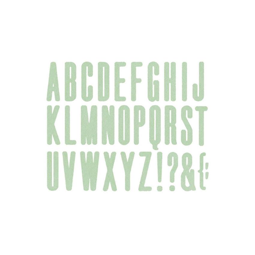 Outil de découpe Alphabet HIGH RISE