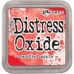 Encre Distress OXIDE CANDIED APPLE par Ranger. Scrapbooking et loisirs créatifs. Livraison rapide et cadeau dans chaque comma...