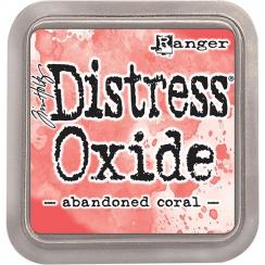 Encre Distress OXIDE ABANDONED CORAL par Ranger. Scrapbooking et loisirs créatifs. Livraison rapide et cadeau dans chaque com...