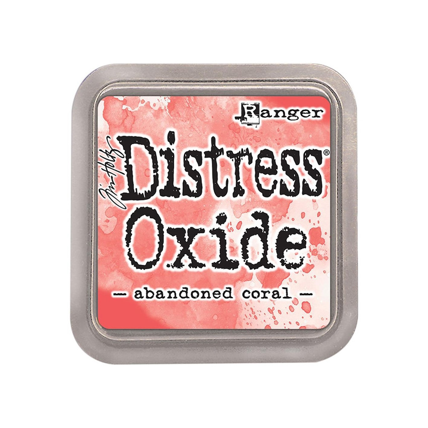 Encre Distress OXIDE ABANDONED CORAL