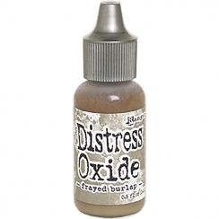 Recharge Distress OXIDE FRAYED BURLAP par Ranger. Scrapbooking et loisirs créatifs. Livraison rapide et cadeau dans chaque co...