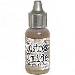 Recharge Distress OXIDE FRAYED BURLAP