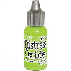Recharge Distress OXIDE TWISTED CITRON par Ranger. Scrapbooking et loisirs créatifs. Livraison rapide et cadeau dans chaque c...