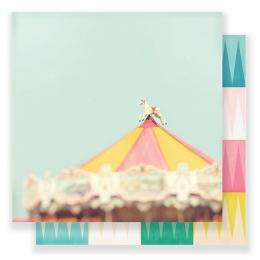 Papier imprimé Carousel MAGICAL