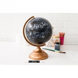 Globe effet ardoise CHALKBOARD