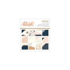 Bloc papiers imprimés 15 x 15 cm collection BLUSH