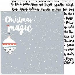 Papier imprimé December Days CHRISTMAS MAGIC