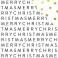 Papier motifs métallisés Joyful MERRY CHRISTMAS
