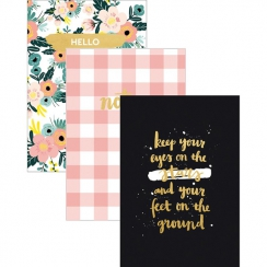 Set de 3 carnets BLOOM