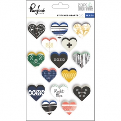 Stickers cœurs couture ESCAPE THE ORDINARY
