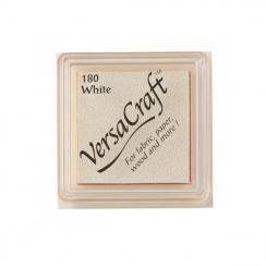 Mini encreur Versacraft WHITE par Tsukineko. Scrapbooking et loisirs créatifs. Livraison rapide et cadeau dans chaque commande.
