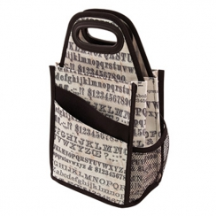 Tote multi-poches TYPOGRAPHY