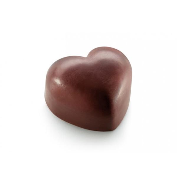 Moules à chocolat en forme de cœurs
