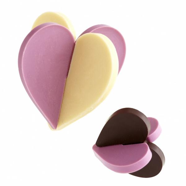 Moules cœurs 3D