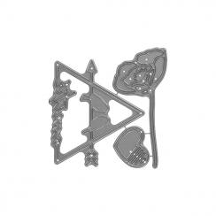 Outils de découpe DOUCE AMITIÉ par Florilèges Design. Scrapbooking et loisirs créatifs. Livraison rapide et cadeau dans chaqu...