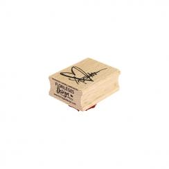Tampon bois CŒUR GRIBOUILLIS par Florilèges Design. Scrapbooking et loisirs créatifs. Livraison rapide et cadeau dans chaque ...