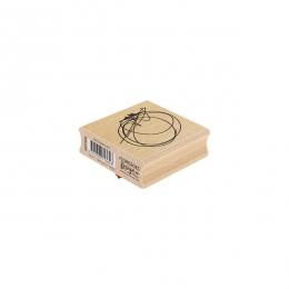 Tampon bois CERCLE GRIBOUILLIS par Florilèges Design. Scrapbooking et loisirs créatifs. Livraison rapide et cadeau dans chaqu...