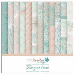 Collection papiers imprimés FOLLOW YOUR DREAMS