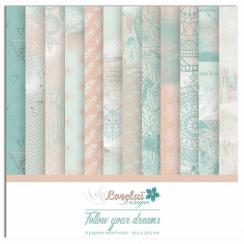 Collection papiers imprimés FOLLOW YOUR DREAMS