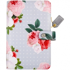 Personnal planner Color Crush  GRAY FLORAL