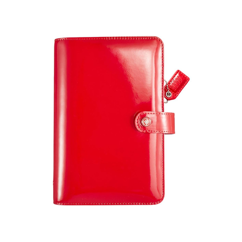 Personnal planner Color Crush PATENT RED