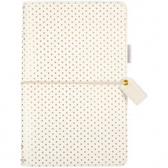 PROMO de -30% sur Traveler's planner Color Crush GOLD DOTS Webster's Pages