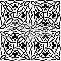 Pochoir 15 x 15 cm CELTIC DESIGN