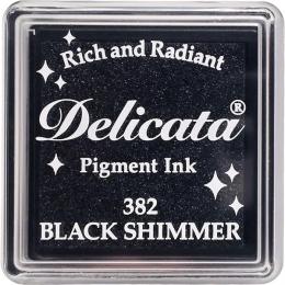 Mini encre pigment Delicata BLACK SHIMMER