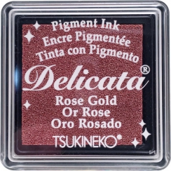 Mini encre pigment Delicata ROSE GOLD