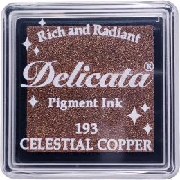 Mini encre pigment Delicata CELESTIAL COPPER par Tsukineko. Scrapbooking et loisirs créatifs. Livraison rapide et cadeau dans...