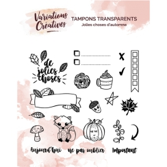 Tampons clear JOLIES CHOSES D'AUTOMNE