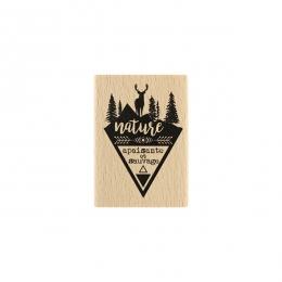 Tampon bois Nature Apaisante