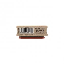 Tampon bois WILD LIFE par Florilèges Design. Scrapbooking et loisirs créatifs. Livraison rapide et cadeau dans chaque commande.