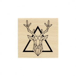 PROMO de -99.99% sur Tampon bois ROI DE LA FORÊT Florilèges Design