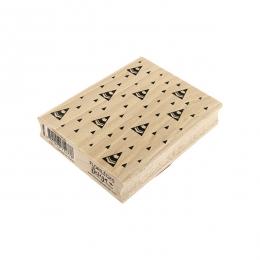 Tampon bois SAPINS STYLISÉS par Florilèges Design. Scrapbooking et loisirs créatifs. Livraison rapide et cadeau dans chaque c...