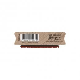 Tampon bois AU NATUREL par Florilèges Design. Scrapbooking et loisirs créatifs. Livraison rapide et cadeau dans chaque commande.